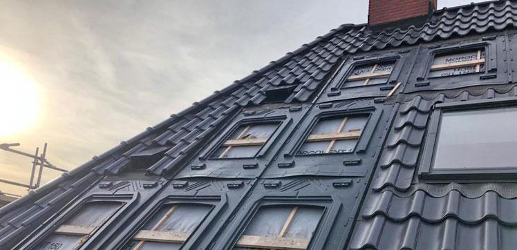 uitsparingen in dak